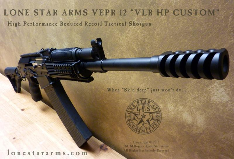 Lone Star Arms Vepr 12 Low Recoil High Performance Shotgun 5