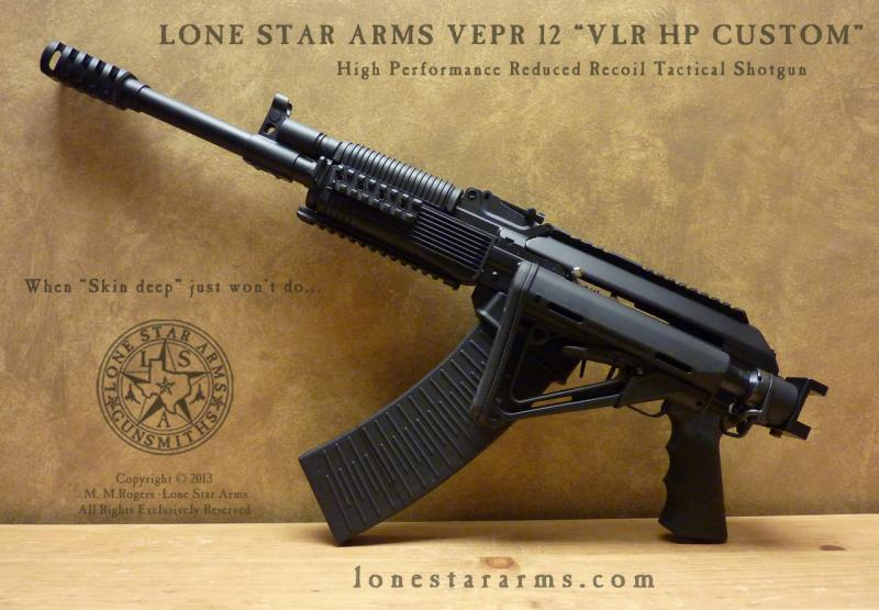 Lone Star Arms Vepr 12 High Performance Low Recoil Shotgun 3