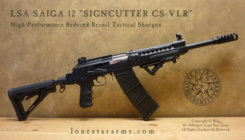 Lone Star Arms Signcutter CS VLR Right Hand View